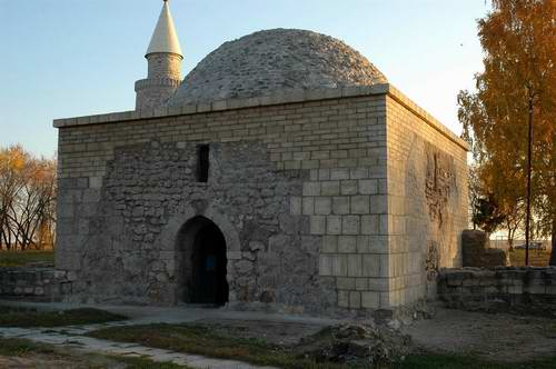 Kazan ancestor Bulgar city architecture - Khan's burial-vault 2nd photo