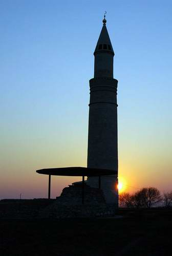 Kazan ancestor Bulgar city architecture - Big minaret 2nd photo