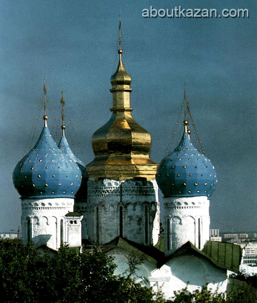 Kazan Russia Upper town Orthodox church photo