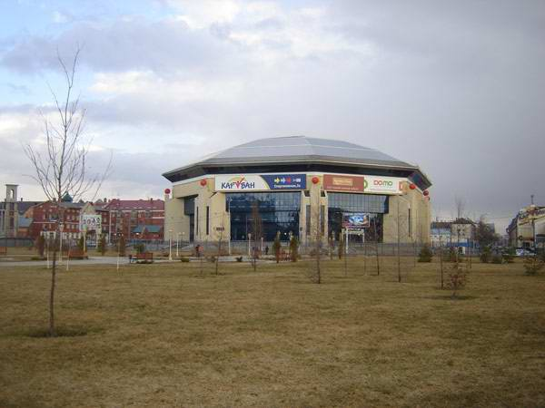 Kazan Russia sport: basketball arena Basket-Hall