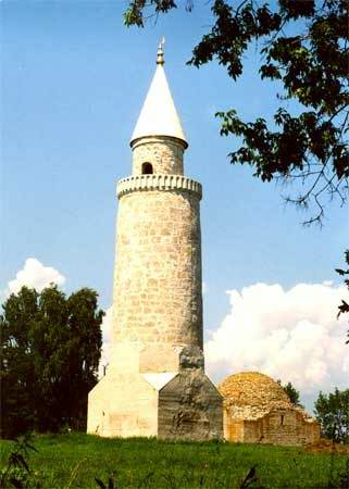 Kazan ancestor Bulgar city architecture - Small minaret 2nd photo