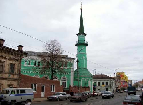 Kazan city central part photos - Sultan Mosque photo