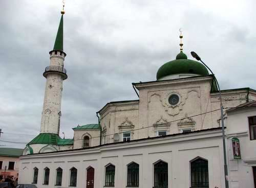 Kazan city central part photos - Nurulla Mosque photo