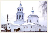 Kazan Russia churches - Tihvinskaya church 1st photo