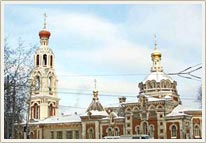 Kazan Russia churches - Varvarinskaya church 1st photo
