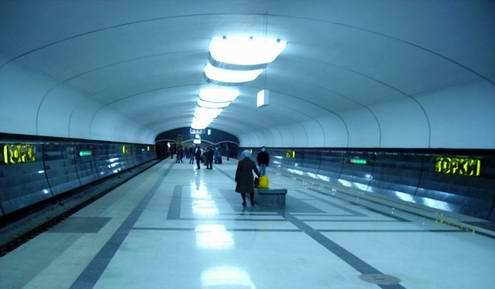 Kazan city metro interiors 2nd photo