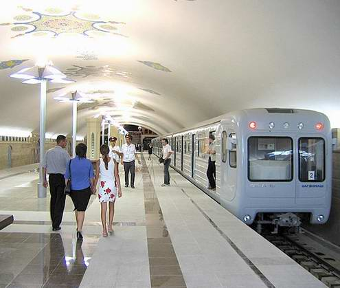Kazan city metro sceneries 5th photo
