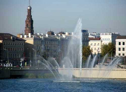Kazan city architecture - Lower Kaban lake views 2nd photo