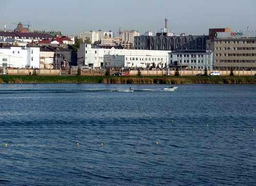 Kazan city architecture - Lower Kaban lake views 4th photo