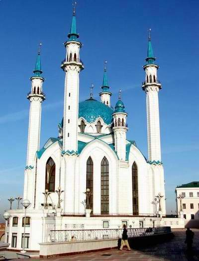 Kazan Kremlin photos - The Kul-Sharif mosque 1st photo