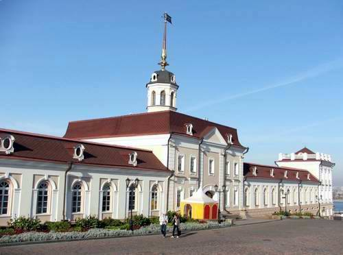 Kazan Kremlin photos - The Cannons Yard photo
