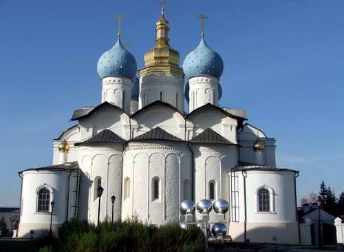 Kazan Kremlin photos - The Blagoveshenksiy Cathedral photo