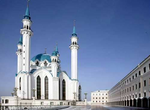 Kazan Kremlin photos - The Kul-Sharif mosque 2nd photo