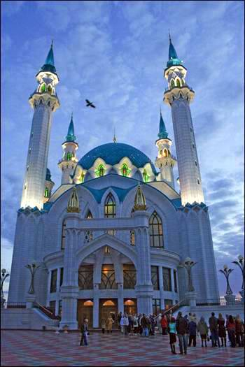 Kazan Kremlin photos - The Kul-Sharif mosque 3rd photo