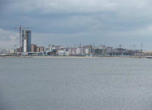 Kazan city modern architecture - Kazanka river right bank view 3rd photo