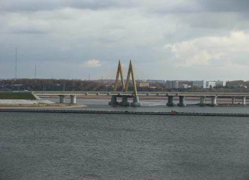 Kazan city modern architecture - Millennium bridge 2nd photo