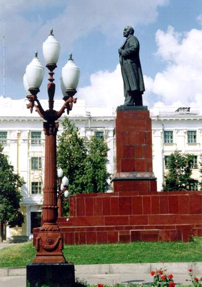 Kazan Russia monument to Lenin V.I. photo