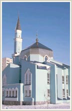 Kazan city of Russia mosques - Huzaif Ibn Al-Yamani mosque 1st photo
