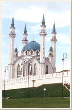 Kazan city of Russia mosques - Kul-Sharif mosque 1st photo
