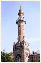 Kazan city of Russia mosques - Zakabannaya mosque photo