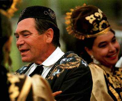 Tatars people of Kazan city photo