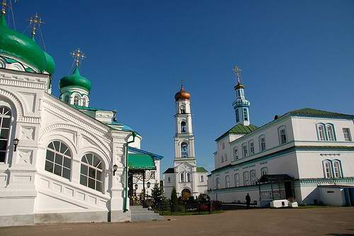 Kazan Russia city Kremlin inside view