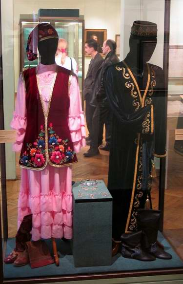 Tatar people traditional clothes 1st photo
